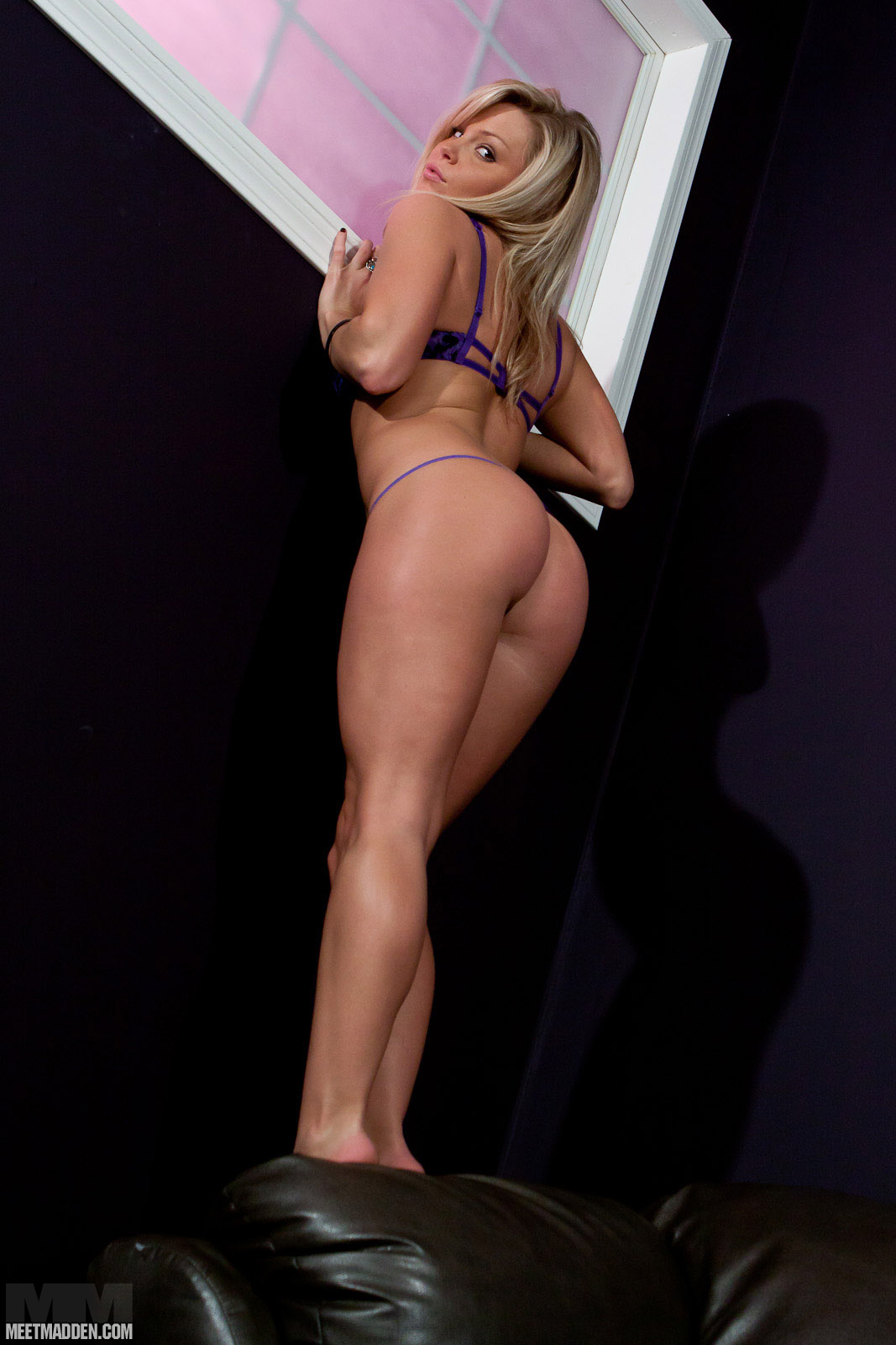 Purple Bra And Panties